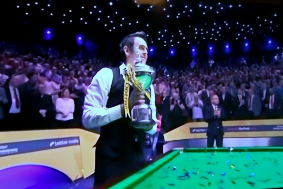 Ronnie O'Sullivan - Snooker World Champion 2013