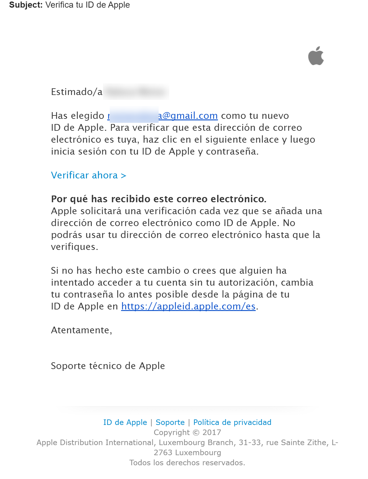 Distinct Apple IDs for the same GMail account – Dorin Moise